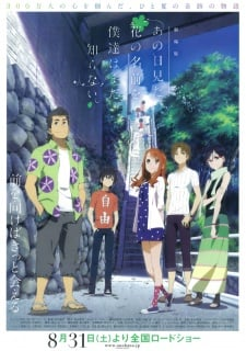 Ano Hi Mita Hana No Namae Wo Bokutachi Wa Mada Shiranai Movie Subtitle Indonesia